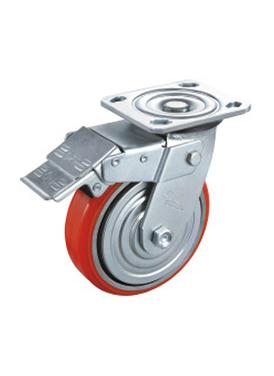 韩式窄面铁芯聚氨酯轮