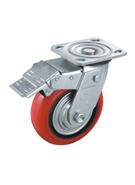 韩式宽面铁芯聚氨酯轮