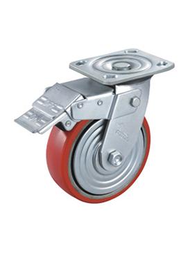 弧形铁芯聚氨酯轮